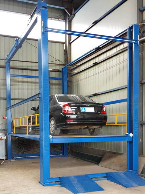 4 Post Car Lift, Four-post Car Lift is Customizable For Garages.